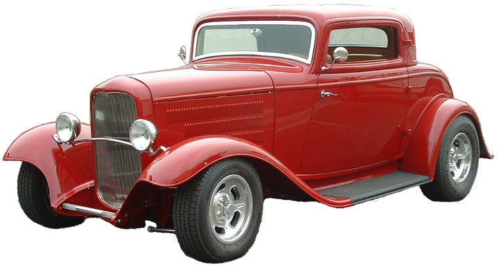 32 ford coupe clip art.
