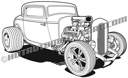 \'32 Custom Hot Rod.