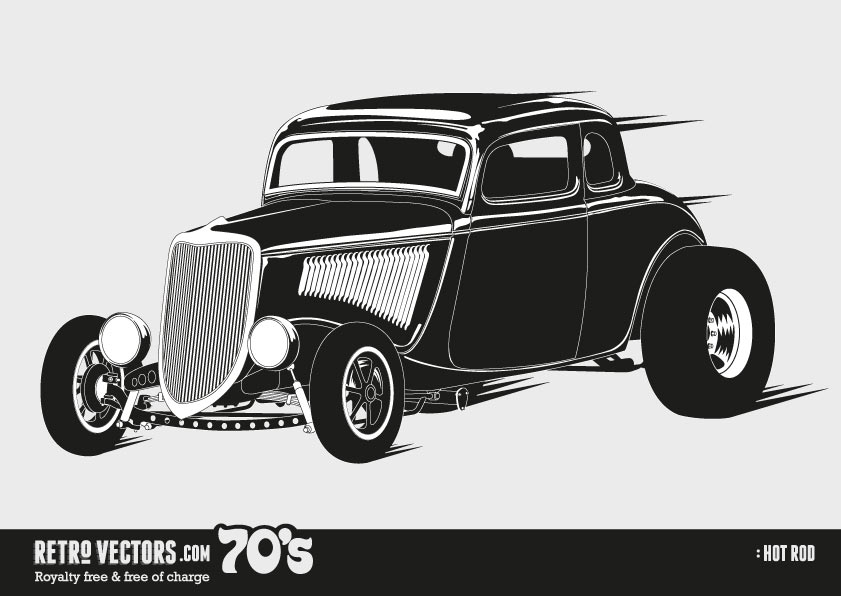 318 Hot Rod free clipart.