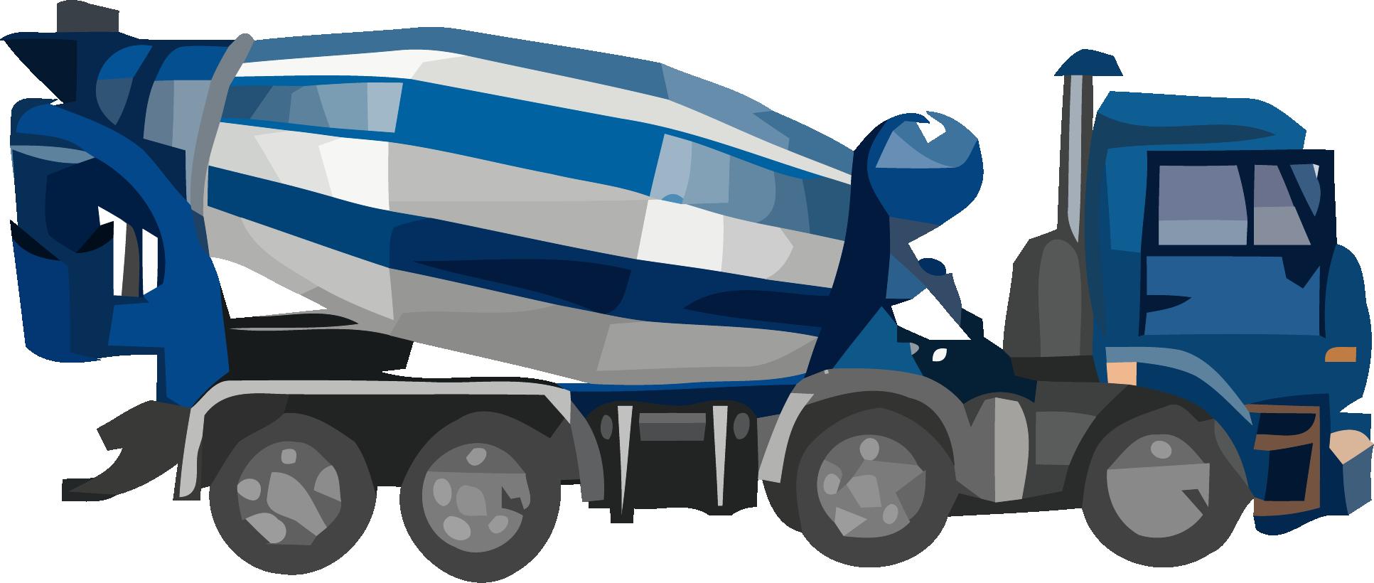 Cement Mixers Motor vehicle Car Truck Concrete.