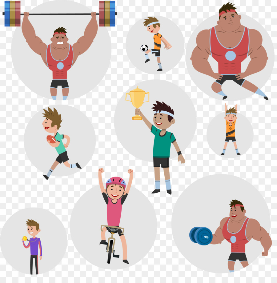 Character animation Sport Clip art.