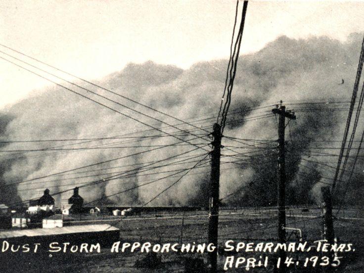 Public Domain Clip Art Photos and Images: Dust Bowl Black Sunday.