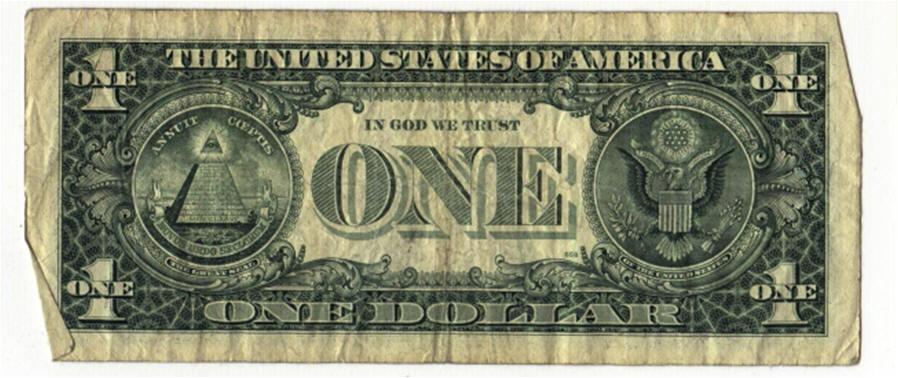 $1 Bill Clipart.