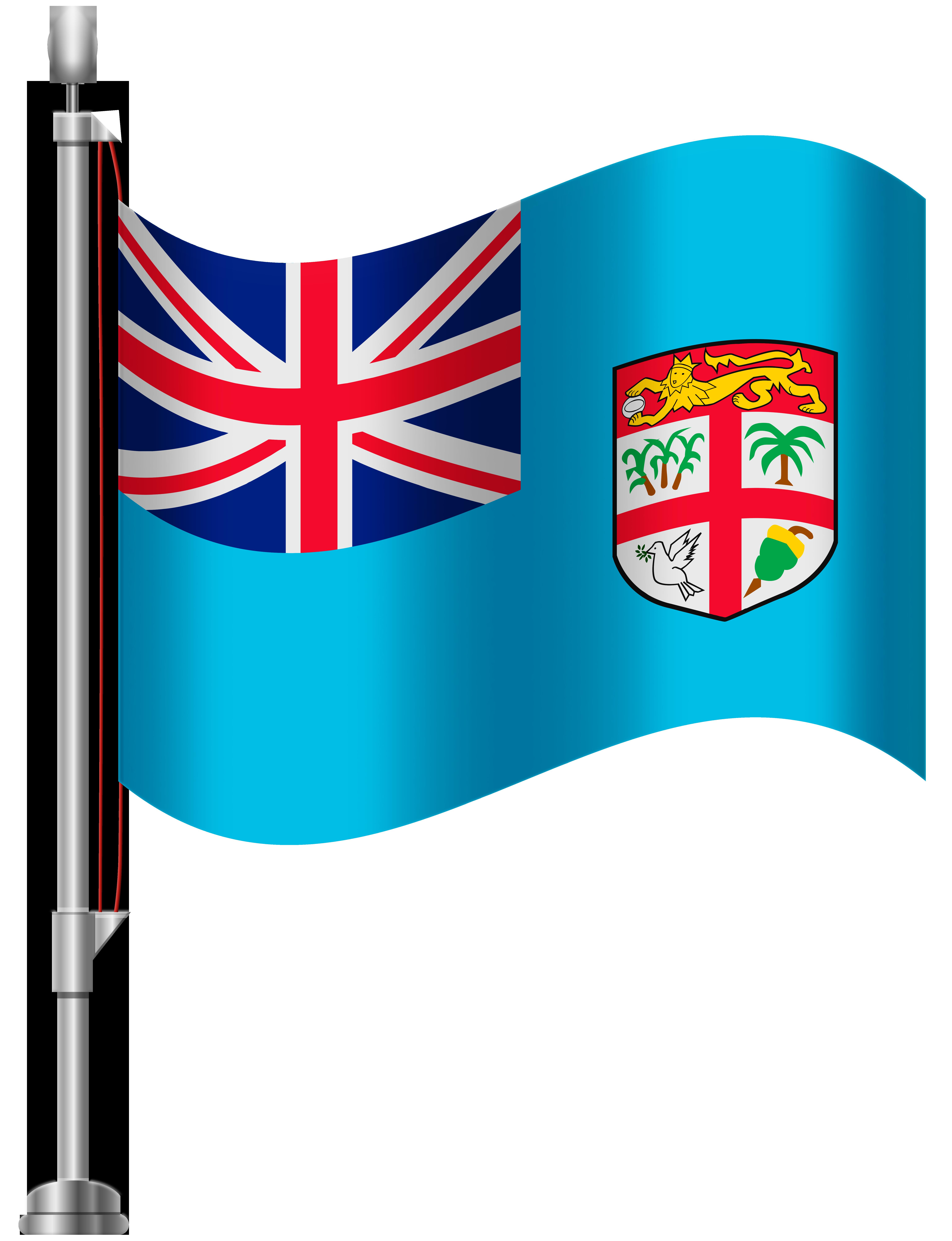 Fiji Flag PNG Clip Art.
