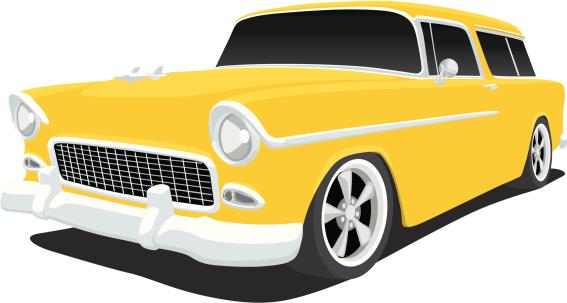1935 car clipart.