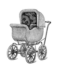 67 Best Antique Baby Strollers images.