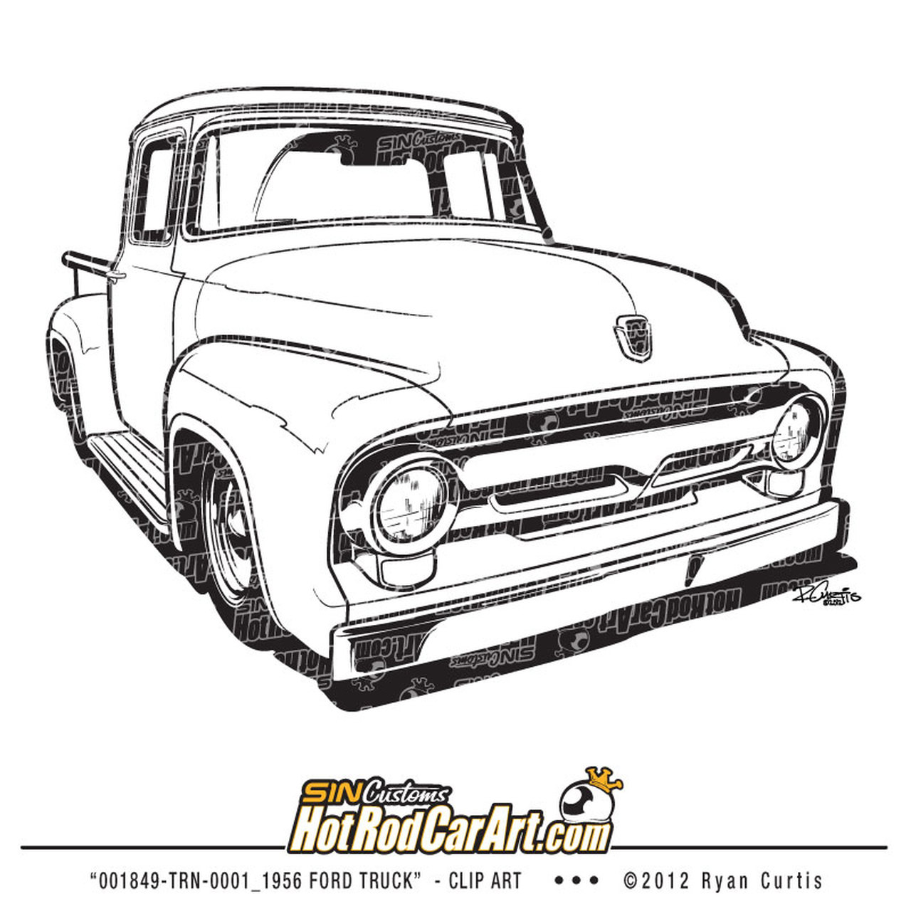 1956 Ford Truck.