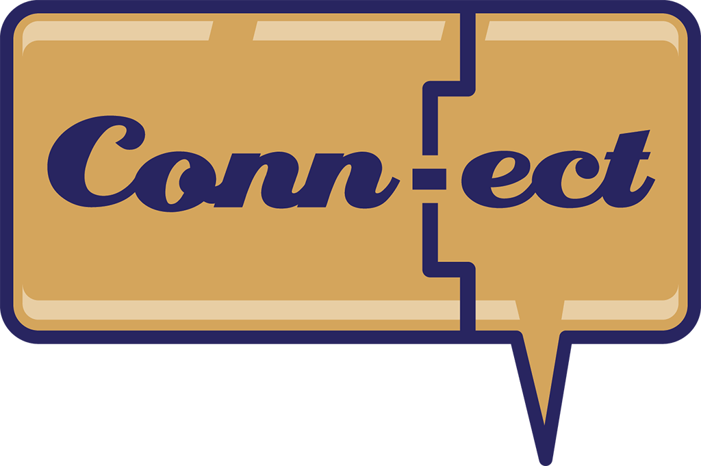 Connect Logo Entry.