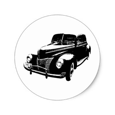 1940 Ford Truck Clipart.