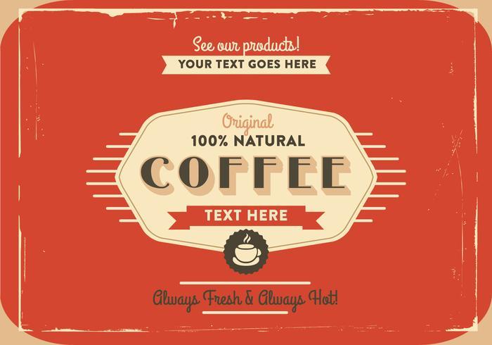 1940\'s Coffee Logo Vector.