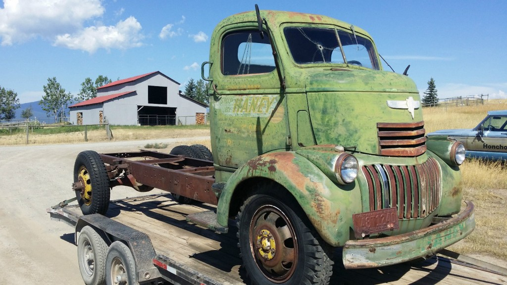 1946 Chevrolet COE Truck for sale.