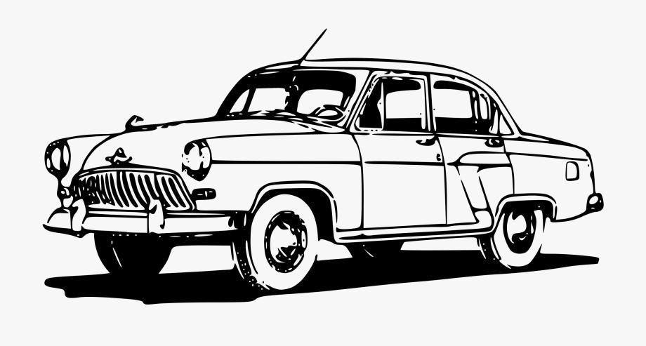 Classic Car Clipart 1950s Car.