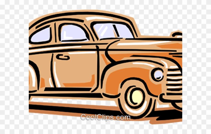 Classic Car Clipart 1940s Car.