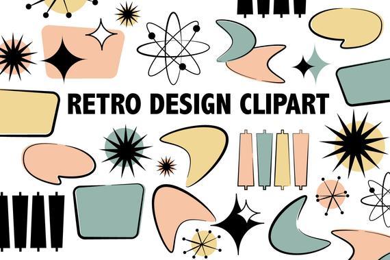RETRO CLIPART.