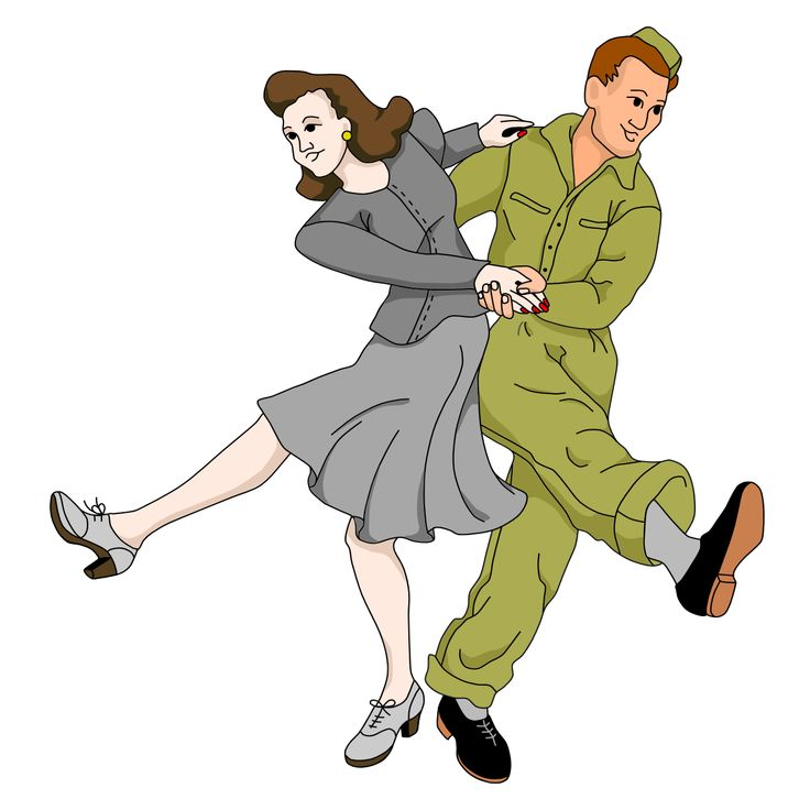 1940s Dance Clipart Free.