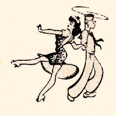 1940s Clipart.
