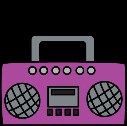 1867 Radio free clipart.