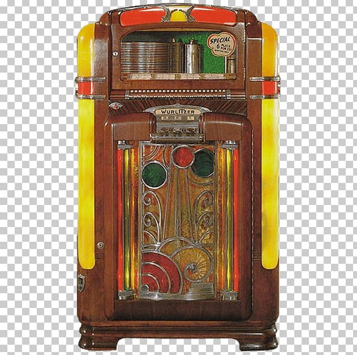 Jukebox 1940s 78 RPM Wurlitzer Seeburg Corporation PNG.