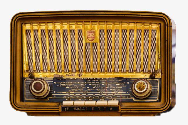 Tube Radios, Nostalgia, Tube, Broadcasting Station PNG.