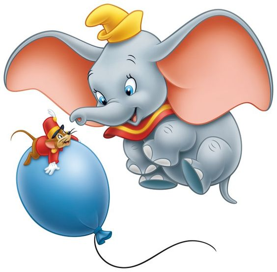 TIMOTHY MOUSE & DUMBO ~ Dumbo, 1941.