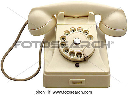 Stock Photography of Maker: Bell Telephone Model:.