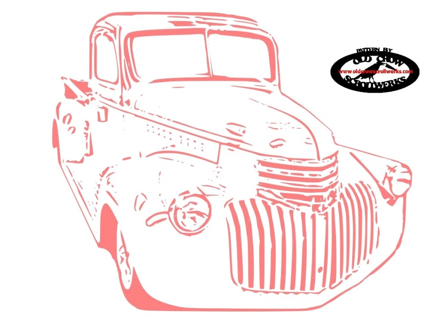 1946 Chevy Truck Pattern.