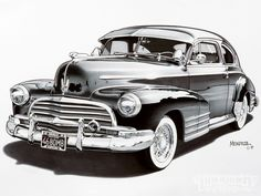 1946 car clipart.