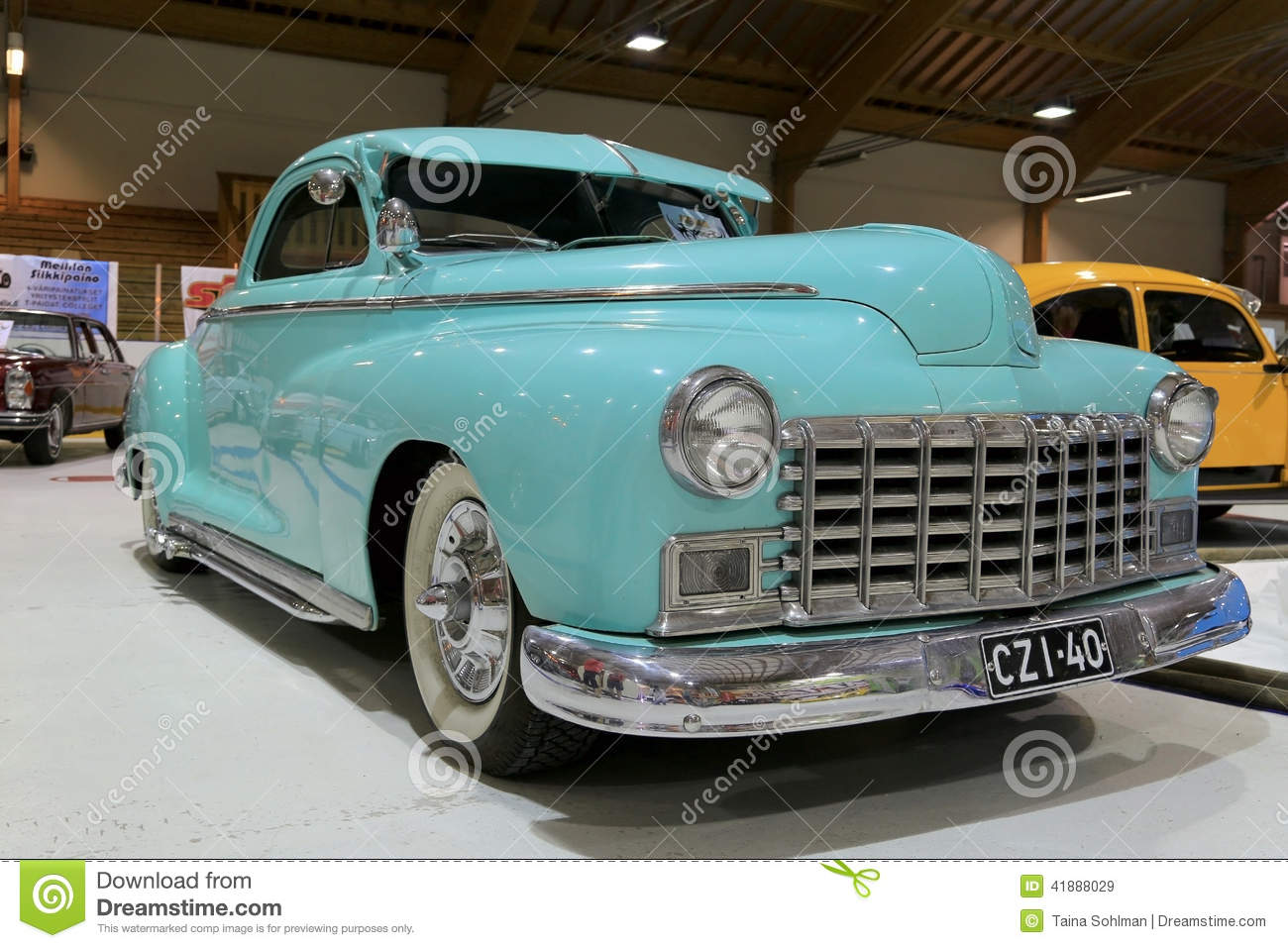 Dodge Business Coupe 1946 Classic Car Editorial Stock Image.