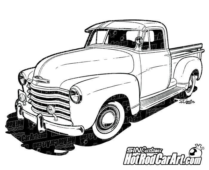 1947 Chevrolet Classic Truck.