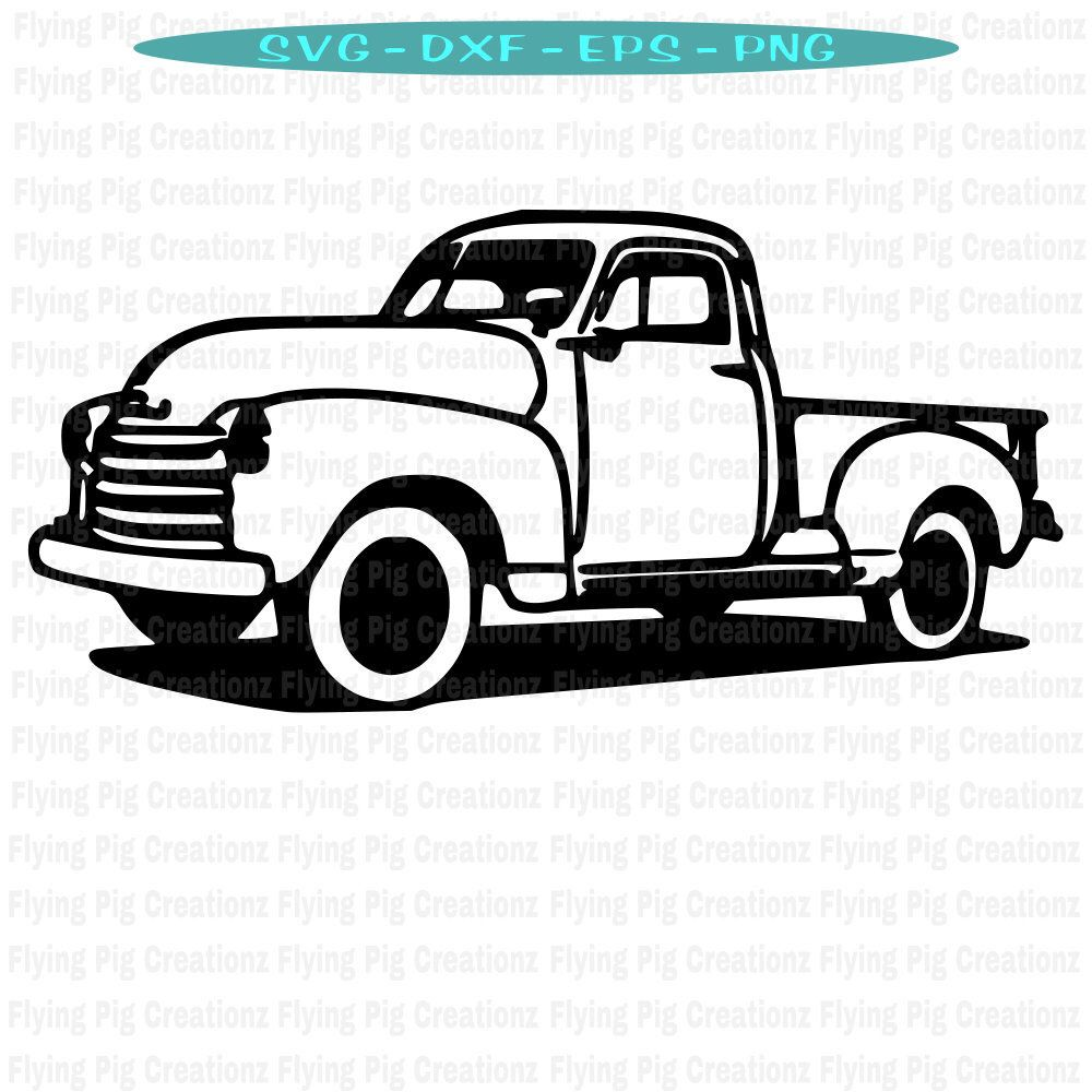 Excited to share this item from my #etsy shop: Truck SVG.