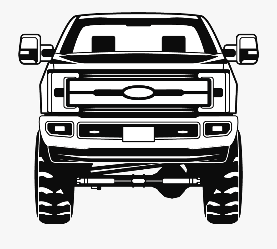 Ford Truck Svg Ford 250 Pickup Truck Clipart Pickup.