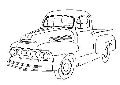 A drawing of a 49 F1.