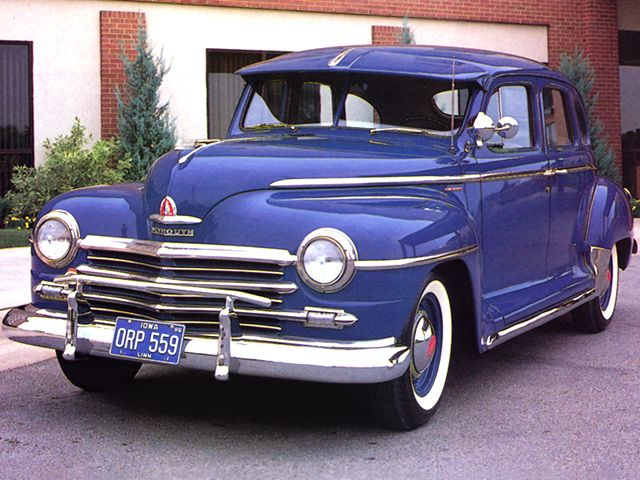 1948 plymouth 4door sedans.