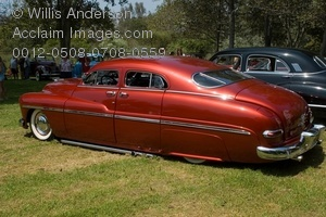 Photo of a 1949 Mercury 4 Door.