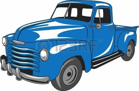 old truck: The car is an American classic. Take this design.