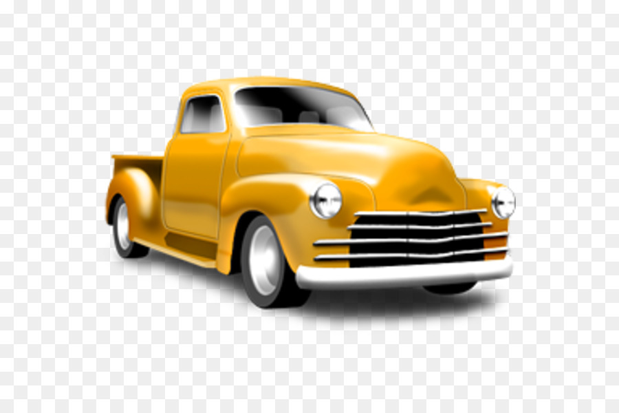 Vintage Pickup Truck Clipart.