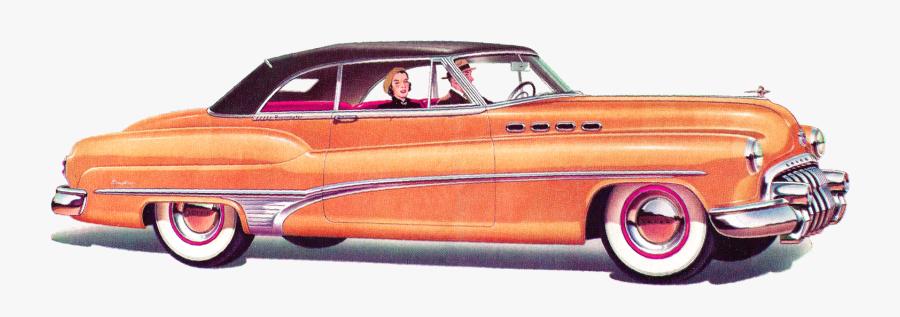 1950 Car Clipart.