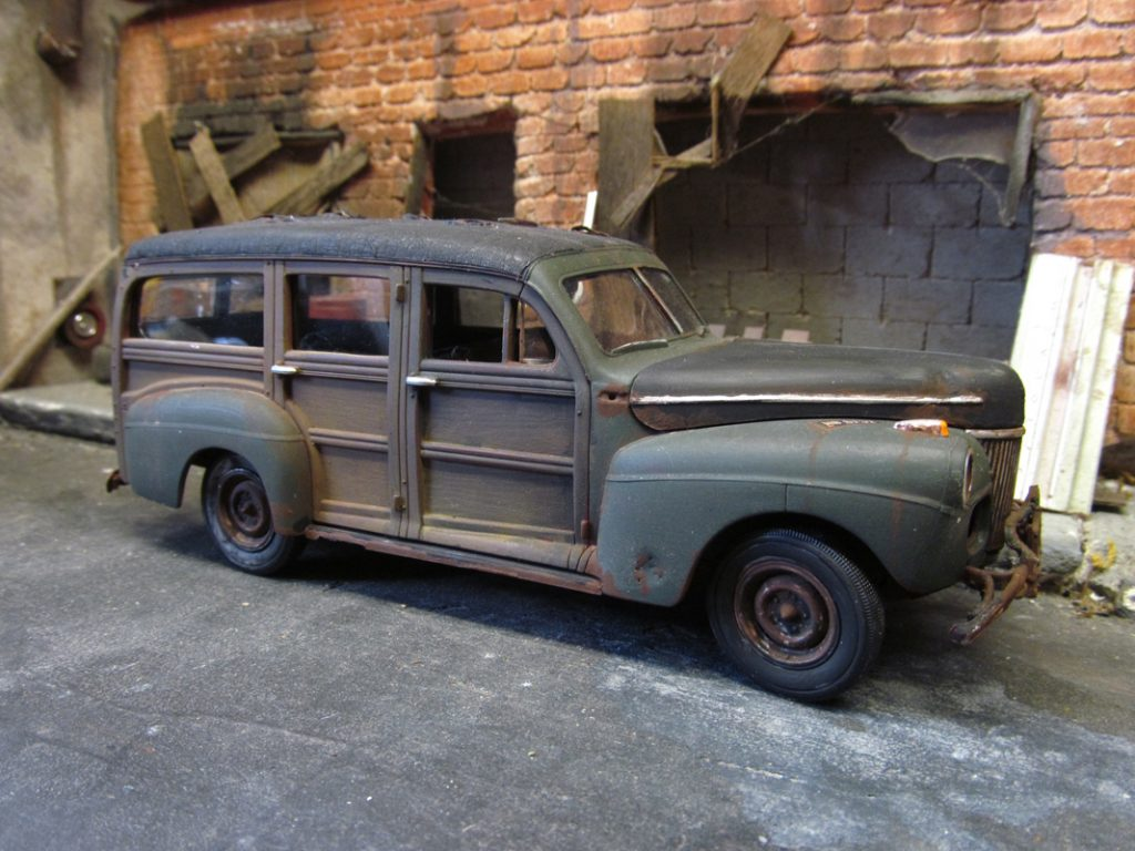 41 Ford Woody ⋆ 125scale.