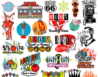 1950 clipart - Clipground