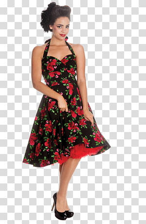1950s Fashion PNG clipart images free download.