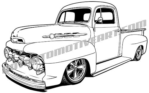 Ford Truck Vector at GetDrawings.com.