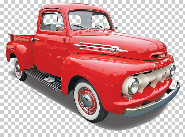 Classic car Pickup truck Thames Trader Ford, classic car PNG.