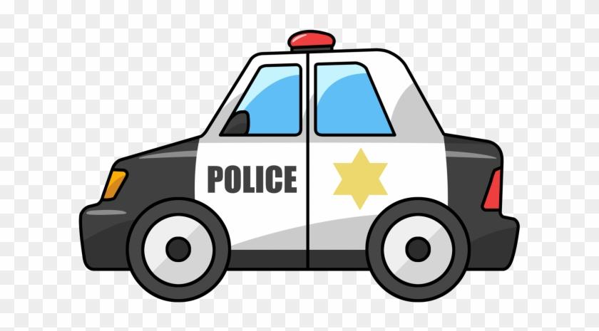 Cartoon Police Car Png.