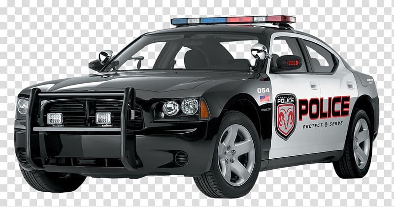 Police car , Police Car , black and gray Police car.