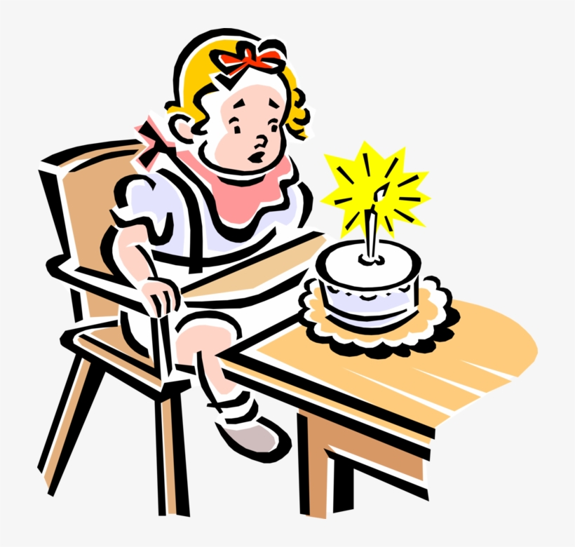 Vector Illustration Of 1950\'s Vintage Style Child\'s.