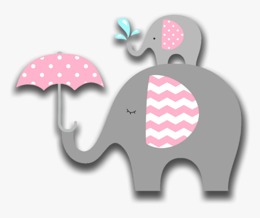 Elefante De Baby Shower, HD Png Download , Transparent Png.