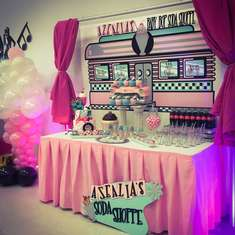 1950s Party Ideas for a Baby Shower.