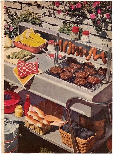 1950 s bbq clipart clipart images gallery for free download.