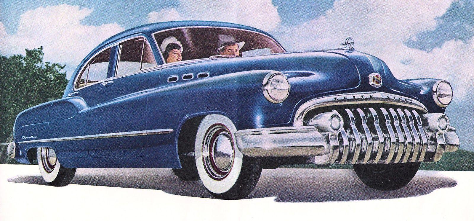 Rare Classic 1950s Cars.