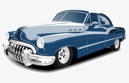 Free Classic Car Clip Art with No Background.
